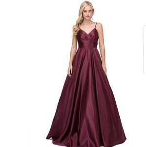Prom ball gown dress